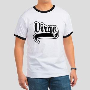 """""""Virgo"""" [Baseball/Black] Ringer T"""